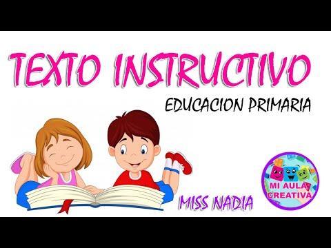 que-es-el-texto-instructivo-|-#miaulacreativa-|-educación-primaria