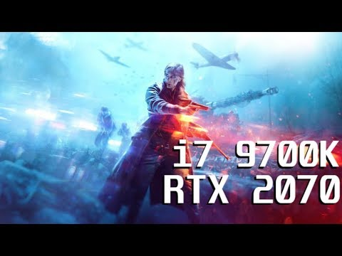 Battlefield 5 | i7 9700k | RTX 2070 | FullHD/2K/4K & low/ultra Benchmark |  RayTracing: OFF