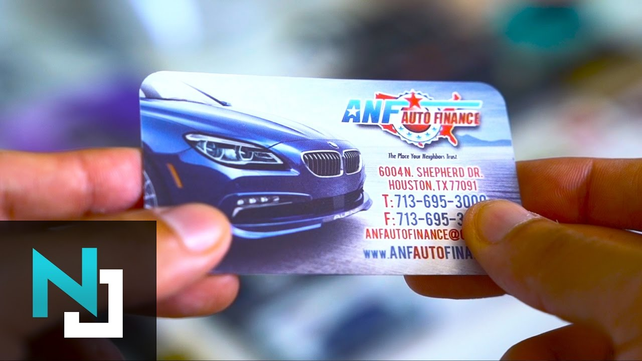 Custom Business Cards 4D Flips - Product Video - YouTube