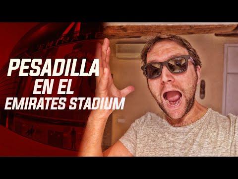 PESADILLA EN EL EMIRATES STADIUM DEL ARSENAL| Rodrigo Fáez Vlog WEEKLY