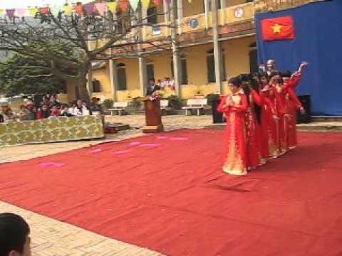 Múa: Dòng Máu Lạc Hồng - THCS Lê Lợi