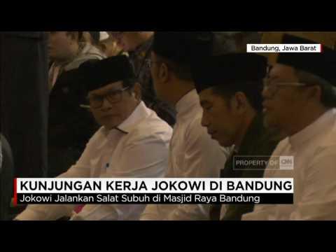 Kunjungan Kerja di Bandung, Presiden Jokowi Ikut Salat Subuh Berjamaah Mp3