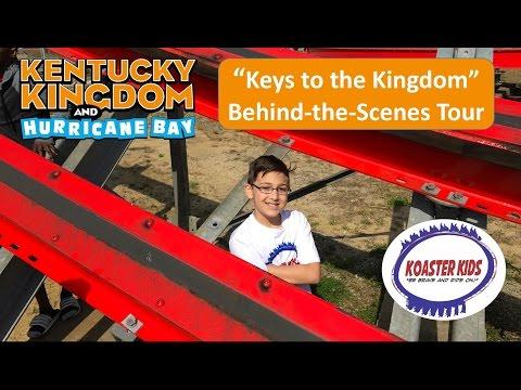 """Keys to Kingdom"" Behind-the-Scenes Tour of Kentucky Kingdom"