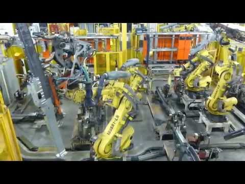 Robot Welders Build Ford Chassis in Kansas City