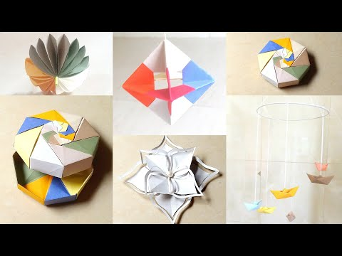 How to make paper crafts 5 minutes craft idea paper hacks