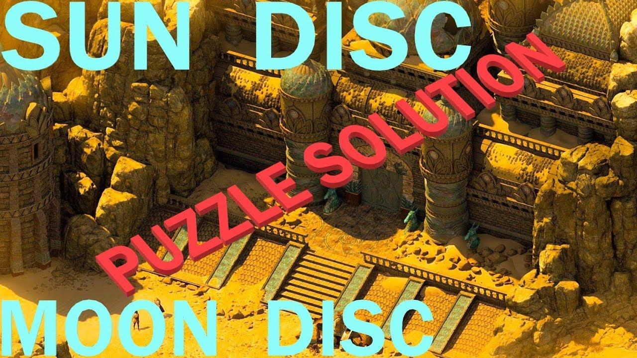 Pathfinder: Kingmaker - Sun Disc Moon Disc PUZZLE solution - Dwarven Ruins