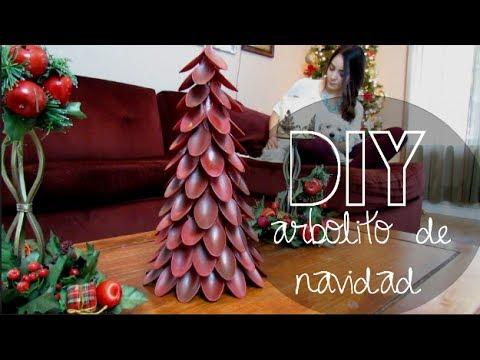 Diy arbolito de navidad youtube - Arbolito de navidad ...