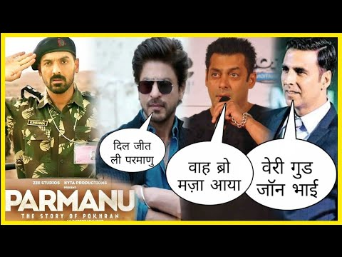 Shocking Reaction of Bollywood Stars On John Abraham Parmanu, Shock Movie Review by Bollywood Stars
