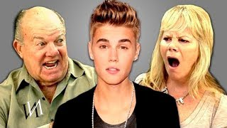 Реакция стариков на песни ДЖАСТИНА БИБЕРА | Иностранцы пенсионеры и Justin Bieber [ИндивИдуалист]