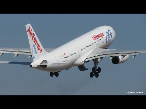 Air Europa Last Flight from Santiago de Chile SCL/SCEL, Airbus A330-200 (EC-LVL)