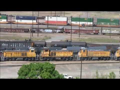 World's largest rail yard and North Platte Railfest 2012