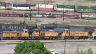 World's largest rail yard and North Platte Railfest 2012 thumbnail