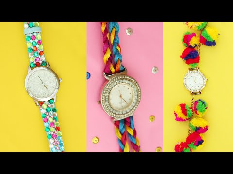 wrist watches 5 Cool DIY Wrist Watch Straps and Bands | Best DIY Video - YouTube