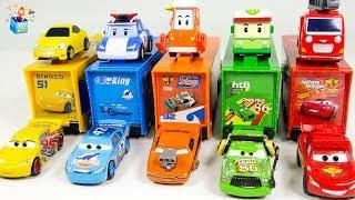 Learning Color Disney Pixar Cars Lightning McQueen mack truck Play for kids car toys