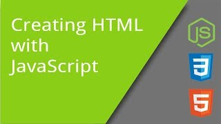 Creating HTML Content with JavaScript