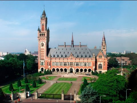The peace palace The Hague (Den Haag)
