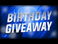 Birthday Giveaway | Win Free Custom Youtube Banner By Carter Tv!