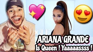 Ariana Grande's Vogue Cover Video Performace | Vogue REACTION