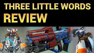 Planet Destiny: Three Little Words - Legendary Review