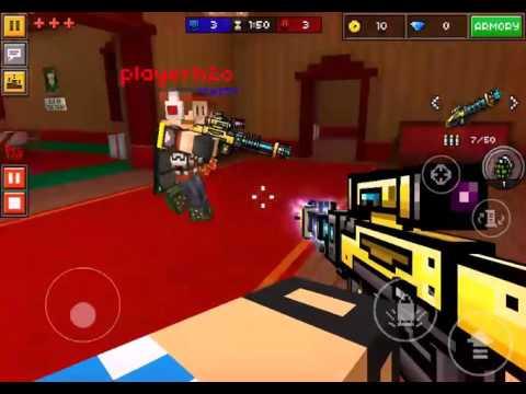 Pixel Gun 3D Electro Blast Rifle Gameplay