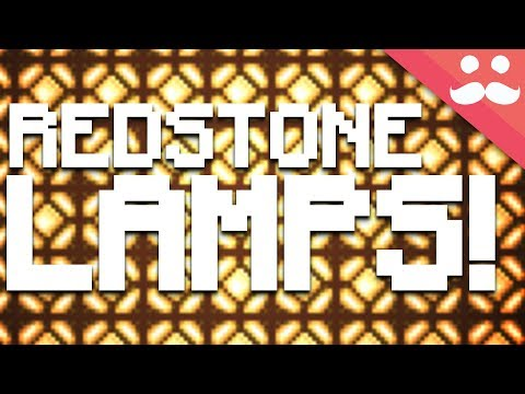 Experimenting With REDSTONE LAMPS In Minecraft 1.13!