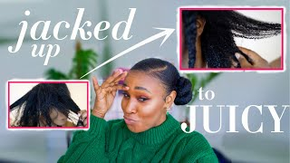 """Matted Hair Fix // How I recovered from UNMANAGEABLE """"stripped"""" matted hair."""