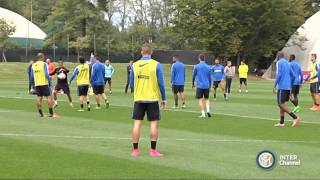 ALLENAMENTO INTER REAL AUDIO 01 10 2015