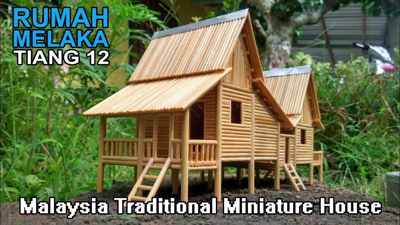 Melaka Traditional House Replica I Malaysia Rumah