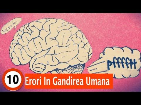 Top 10 Erori In Gandirea Umana