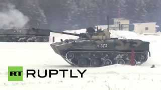 Russia: The BMD-4M put through EXTREMES by Airborne Forces