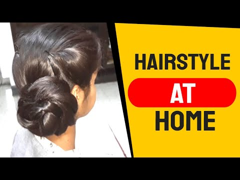 2 Simple, Easy & Quick Self Hairstyle for Girl's. Hairstyle at home. thumbnail