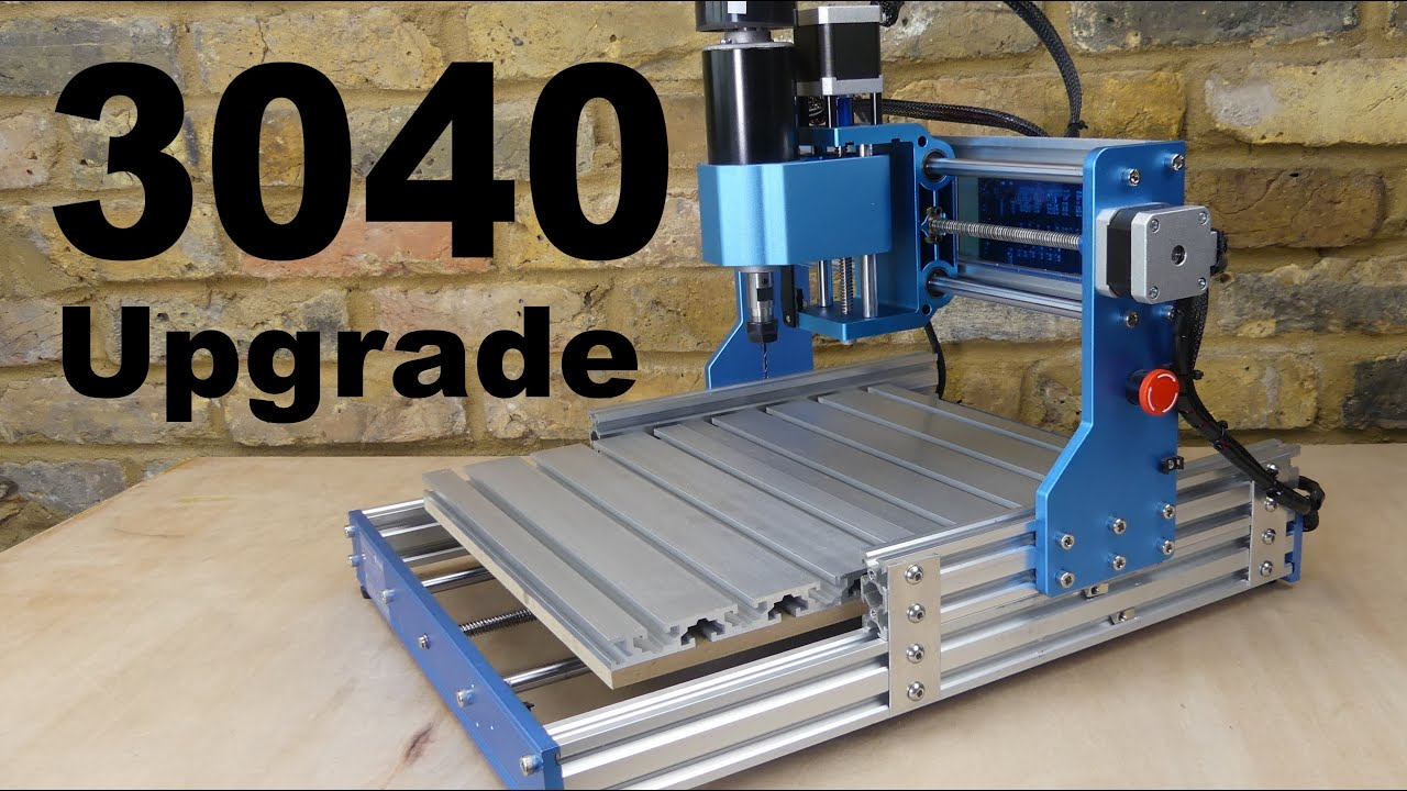 Download CNC 3018 to 3040 Upgrade with 500W Spindle Motor  ( Sainsmart Genmitsu )