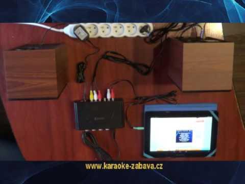Karaoke sada pro tablet nebo smartphone