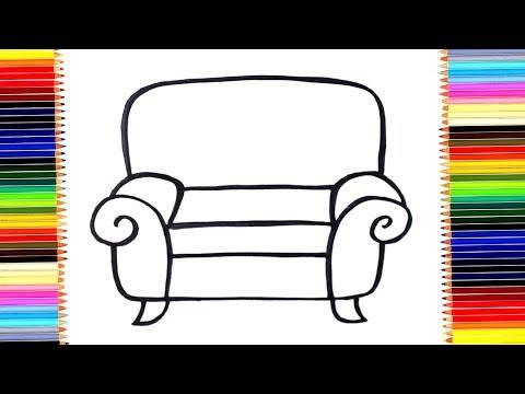 Вопрос: Как нарисовать стул?