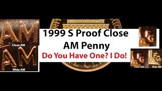1999-S   Lincoln  Memorial Cent  PROOF Removed  From  Proof  Set  FSH