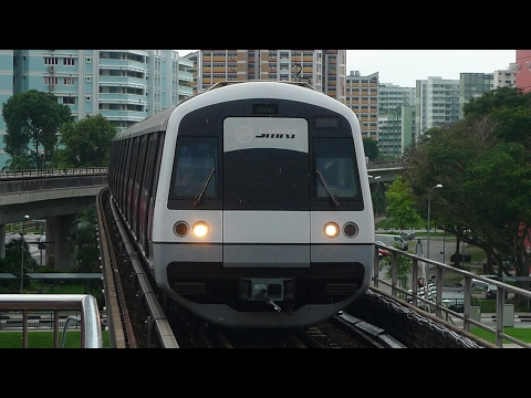 North South Line Ride from Jurong East to Yishun