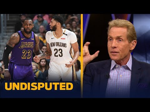 How many games will AD, LeBron & the Lakers win? Skip and Shannon predict | NBA | UNDISPUTED