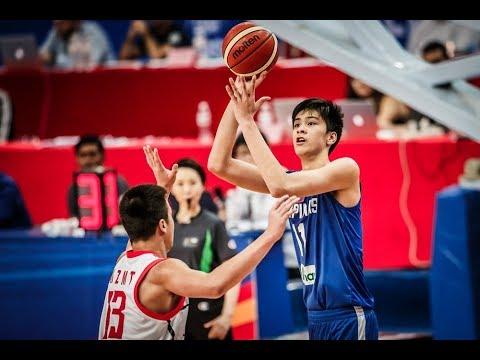 Philippines vs. China FULL HIGHLIGHTS | FIBA Asia U16 | 04.07.18