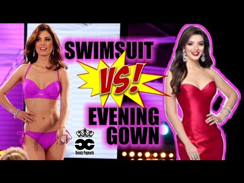 Swimsuit VS Evening Gown - Miss Universe Mexico 2018