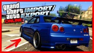 GTA 5 Online: ОБНОВЛЕНИЕ «Импорт/Экспорт» | 25 НОВЫХ МАШИН | 1.37