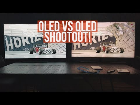 Oled VS Qled Shootout! [4k]