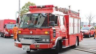 消防車 救急車 パトカー 消防警察緊急走行22