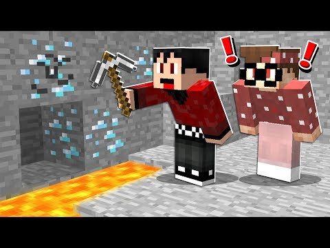 Last Person To Find DIAMONDS Gets BANNED! - Minecraft Challenge