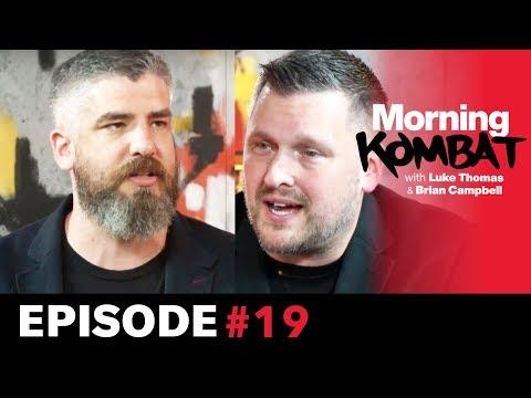 UFC Sao Paulo, Wilder vs. Ortiz II, Nick Diaz  | MORNING KOMBAT | Ep. 19