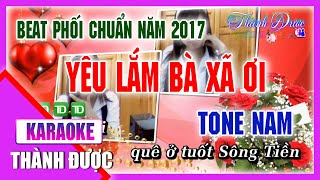 [ Karaoke ] Yêu Lắm Bà Xã Ơi ( Beat Phối Chuẩn Có Bè ) - Khưu Huy Vũ By Thành Được