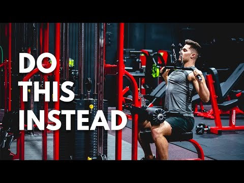 How To Actually Target Your Lats With The Lat Pulldown!