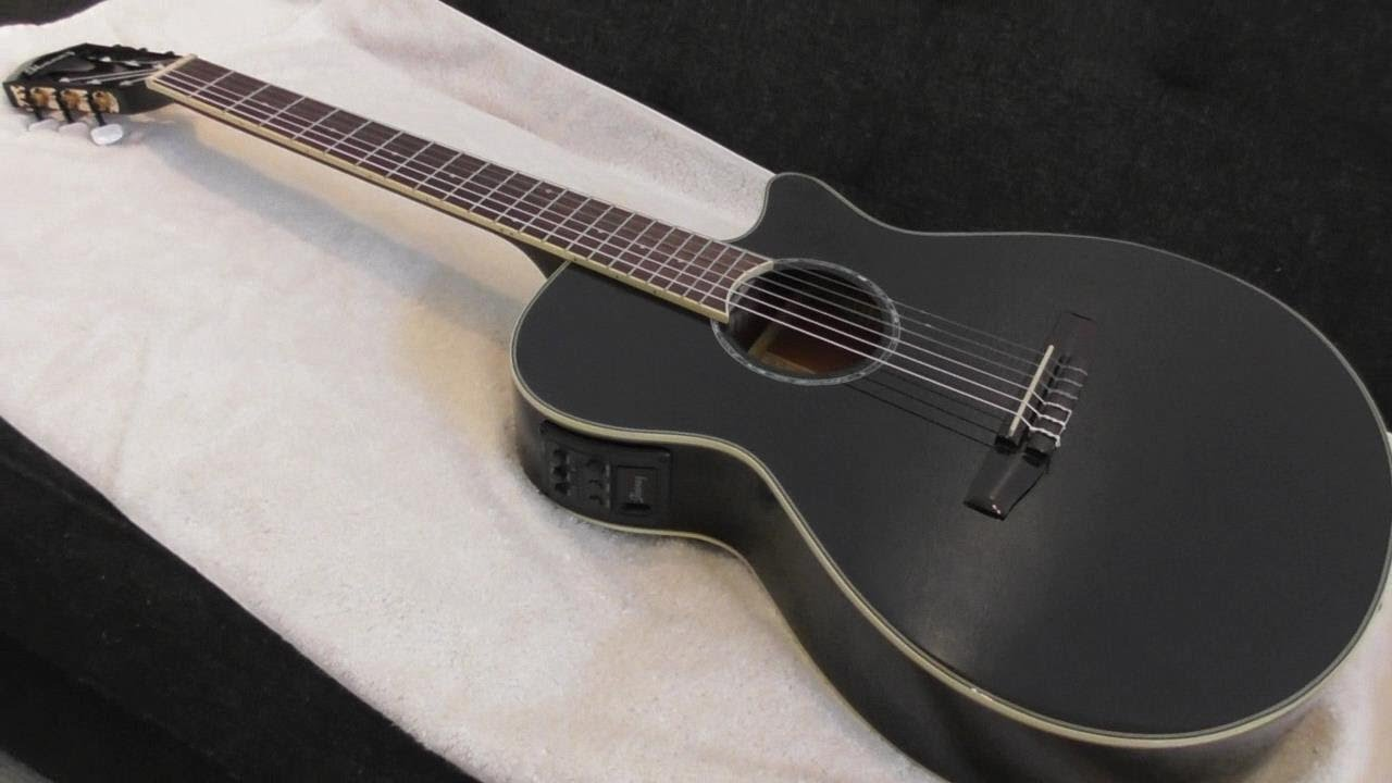 ibanez aeg10nii nylon string cutaway acoustic electric guitar review youtube. Black Bedroom Furniture Sets. Home Design Ideas