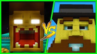 Minecraft - HEROBRINE HOUSE VS NOTCH HOUSE! (House Vs House w/ Little Ropo)