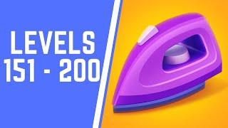 Perfect Ironing Game Walkthrough Level 151-200