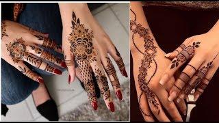 Beautiful back hand floral mehndi designs || Back hand Mehndi designs || Mehndi Designs